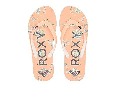 Roxy Kids Tahiti VI (Little Kid/Big Kid) (Peach Cream) Girls Shoes
