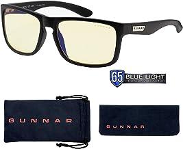 Gaming Glasses | Blue Light Blocking Glasses | Intercept/Onyx by Gunnar  | 65% Blue Light Protection, 100% UV Light, Anti-Reflective To Protect & Reduce Eye Strain & Dryness