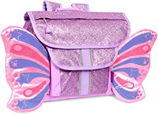 حقيبة ظهر Bixbee للأطفال، Sparkalicious Purple Butterfly flyer