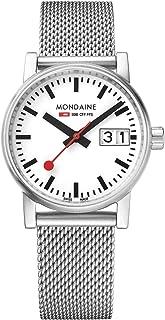 Mondaine - Evo2- Reloj de Acero Inoxidable para Mujer, MSE.30210.SM, 30 MM