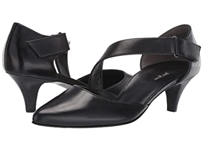 Paul Green Nicki Pump (Black Leather) Women