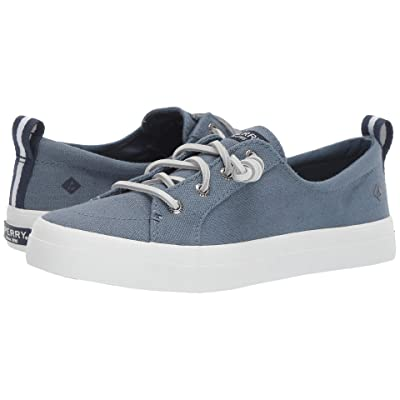 Sperry Crest Vibe Linen (Slate Blue) Women