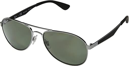 Gunmetal/Polarized Green Classic G-15