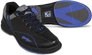 KR Strikeforce Mens Raptor Performance Bowling Shoes- Right Hand Black/Royal Wide