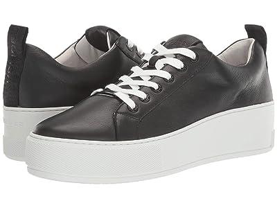 J/Slides Margot (Black Leather) Women