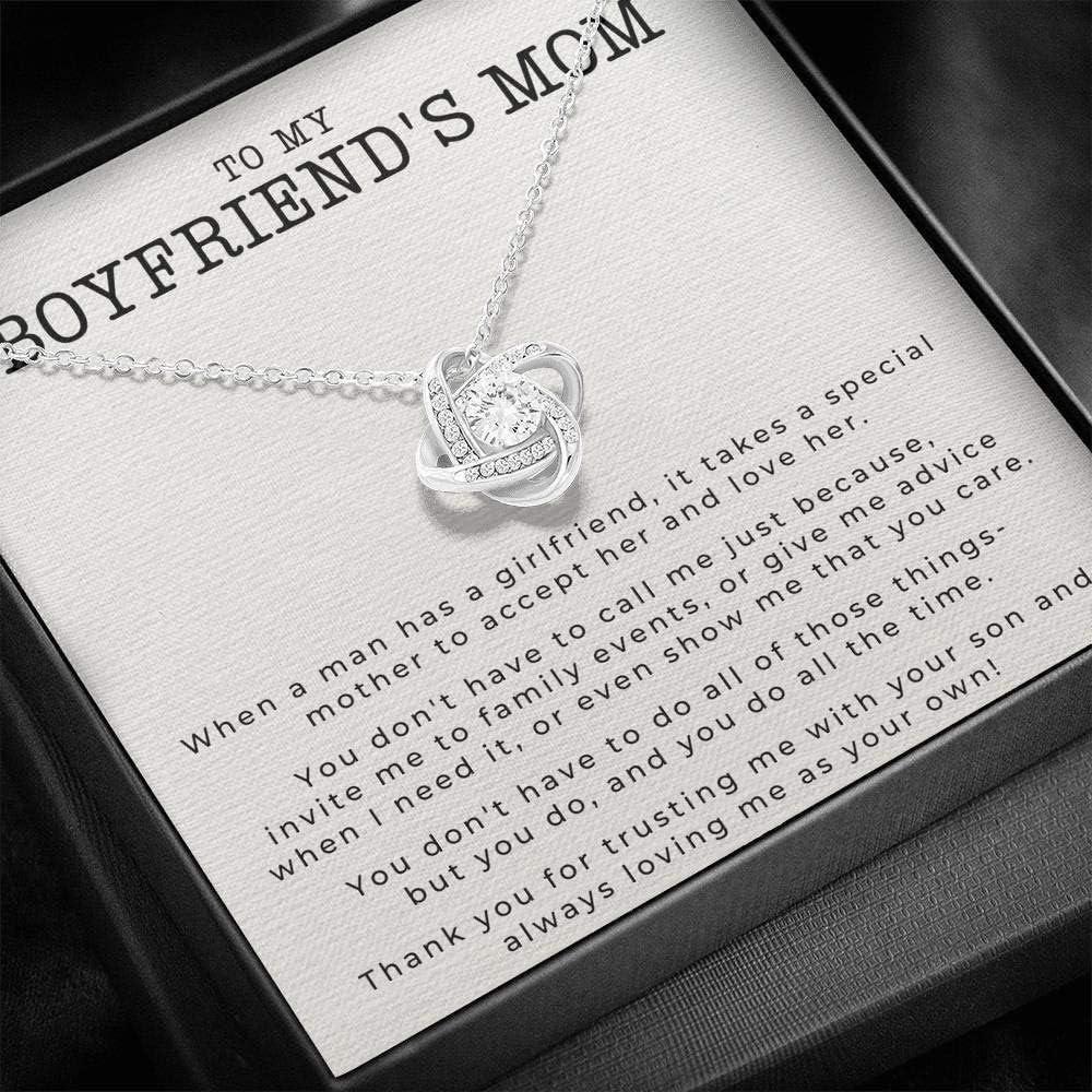 KORAFINA Meaningful Quote Boyfriend's Mom Boyfriends Los Angeles Mall Gift My latest to