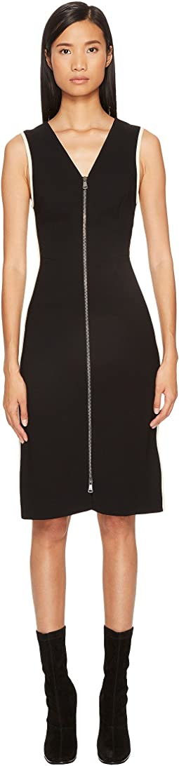 Sonia Rykiel - Plain Crepe Zip Dress