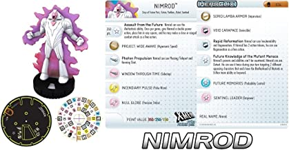 Heroclix Days of Future Past Nimrod #024 Rare Chase Gravity Feed Figure With Card