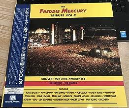 FREDDIE MERCURY TRIBUTE VOL.2 CONCERT FOR AIDS AWARENESS RE-EDITED RE-MIXED PROFITS TO AIDS CHARITIES VIDEOARTS JAPAN 1992 OBI INSERT DAVID MALLET JIM BEACH QUEEN VALJ-3339
