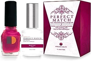 LECHAT Perfect Match Nail Polish, Rain Lili, 0.500 Ounce