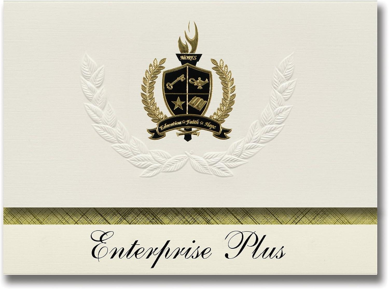 Signature Ankündigungen Enterprise Plus (rotding, (rotding, (rotding, ca) Graduation Ankündigungen, Presidential Stil, Elite Paket 25 Stück mit Gold & Schwarz Metallic Folie Dichtung B078TV7PD5   | Gutes Design  1faa45