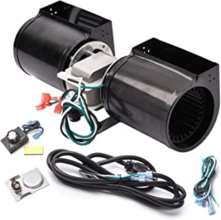 Replacement Fireplace Blower Kit for Heat-N-Glo, Hearth and Home, Quadra Fire, GTI, Heatilator, Majestic, Superior, Monessen, Vermont Castings Fireplace, GFK-160A GFK-160 FAB-1600 Fireplace Blower Kit