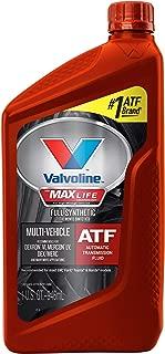Valvoline VV324 MaxLife Full Synthetic Multi-Vehicle Automatic Transmission Fluid, 1. quarts