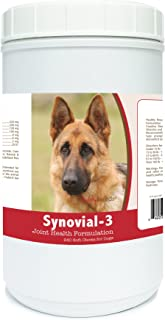 Healthy Breeds Synovial-3 Joint Health Formulation Soft Chews - Over 200 Breeds - Comprehensive Blend to Support Joint Strength Flexibility & Function - 120 or 240 Ct