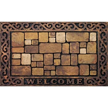 High Traffic Areas 24 x 35 Inch SCOCICI1588 Doormat Thanksgiving Back Door Hand Writing on Board Premium Durable Door Mat for Mud Room