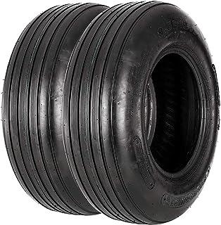 VANACC 9.5L-15 Tractor Tires 8PR R-1 Agricultural Farm implement Tire 9.5-15 Set of 2