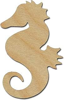 Seahorse Cut Outs Unfinished Wood Mini Seahorses 3