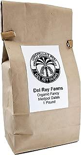 Two Pack of Coachella's Best Organic Fancy Medjool Dates 1 Lb Bag (2 lb total)