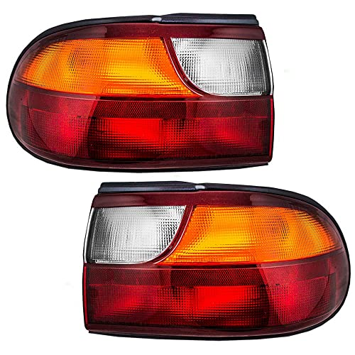 Driver and Passenger Taillights Tail Lamps with Circuit Board Replacement for Chevrolet 15894727 15894726