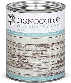 Lignocolor Kreidefarbe Shabby Chic Lack Vintage Look 1kg neue Farbtöne Duck Egg