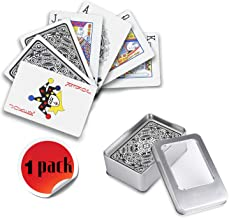 Weekend&Lifecan baraja Cartas Poker plastico, de Cartas Poker, Juego de Poker, baraja de Cartas Poker, Juego de Cartas, Cartas Poke (Grey)