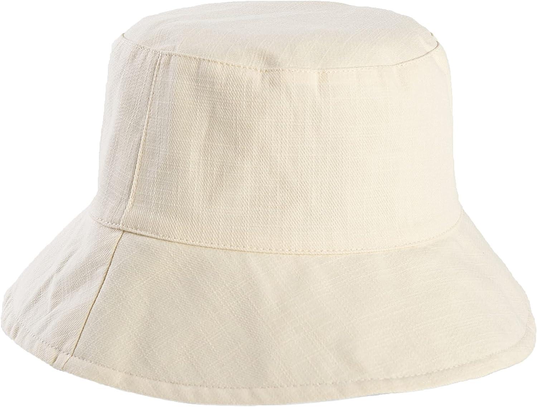 JOYPIE Bucket hat for Women Men Teens Unisex 100% Cotton Packable Sunmmer hat Travel Beach Hiking