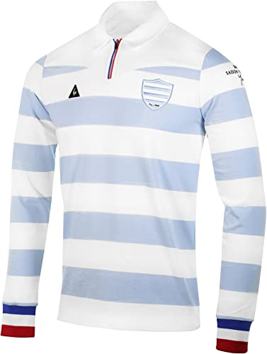 Le Coq Sportif Polo Rugby Adulte - Légende Racing 92