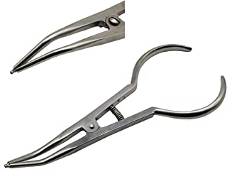 Orthodontic separator placing pliers separator placer pliers separator pliers by ARTMAN