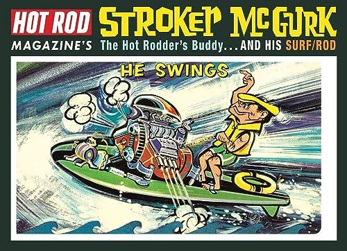 C.P.M. MPC mpc873–1  6 roker MCGURK-Surf Rod Karikatur
