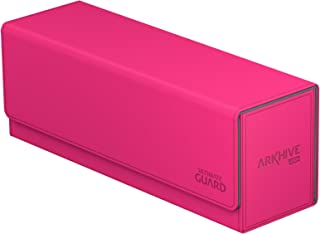 Ultimate Guard Arkhive Flip Case 400 Plus XenoSkin Deck Box, Pink