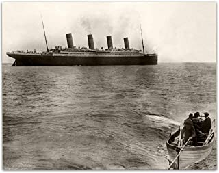 The Titanic's Last Known Photograph - 11x14 Unframed Art Print - Great Gift Under $15 for People Who Are Fascinated by The Titanic