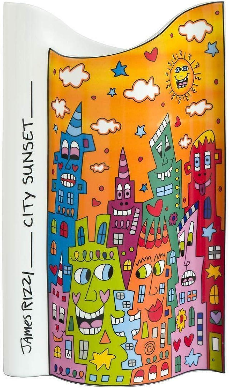Goebel Pop Art City Sunset - Vase Bunt