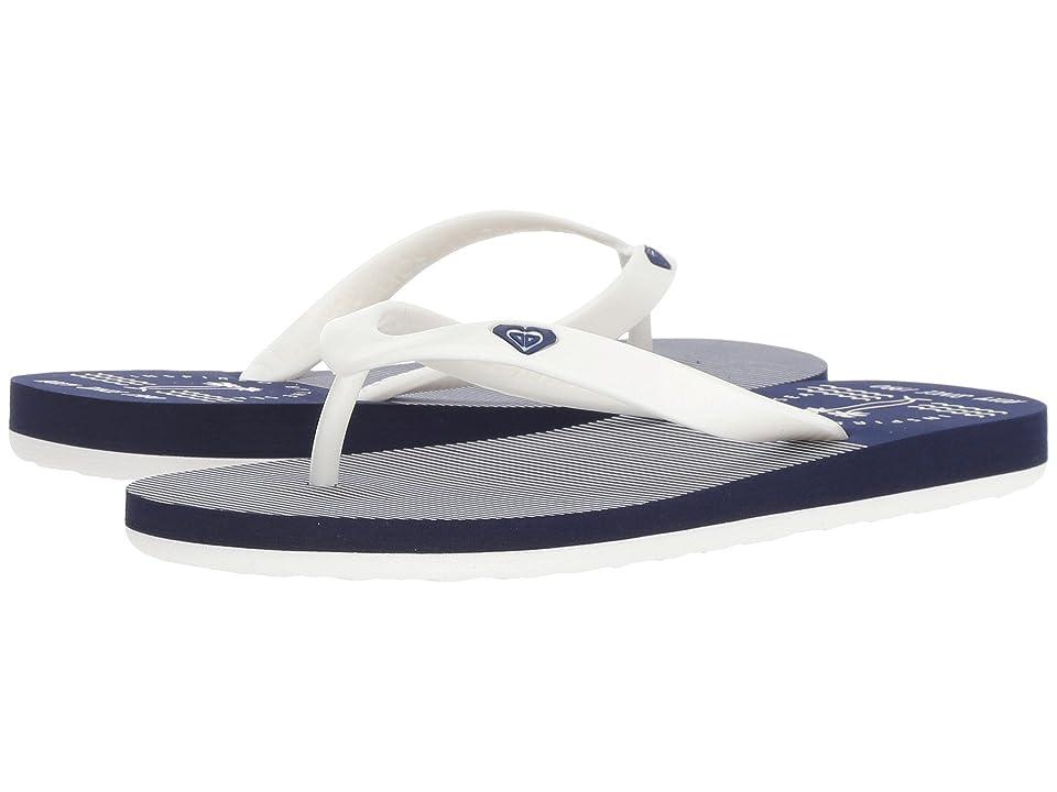 Roxy Kids Tahiti VI (Little Kid/Big Kid) (Blue/White) Girls Shoes