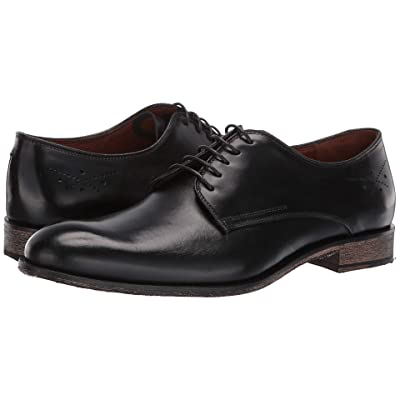 Massimo Matteo 5-Eye Oxford 19 (Black) Men