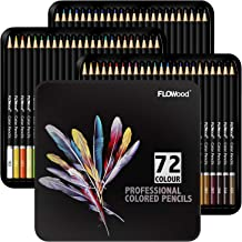 Flowood Profession Colored Pencils,72 Pcs Premium Artist Soft Series Lead for Pro Artists& Requirements,Adults Great Color...