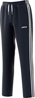 adidas Boy's Youth Boys Essentials 3 Stripes Tapered Pants, Blue (Legend Ink/white), 9-10 Years
