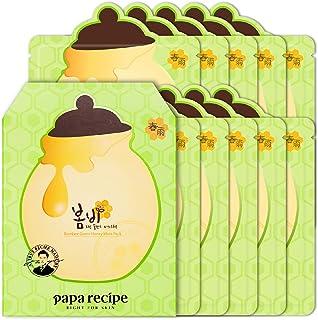 Sponsored Ad - Papa Recipe Bombee Green Honey Mask Pack 10 sheets. Korean skin care, facial skin care sheet mask, deep Moi...