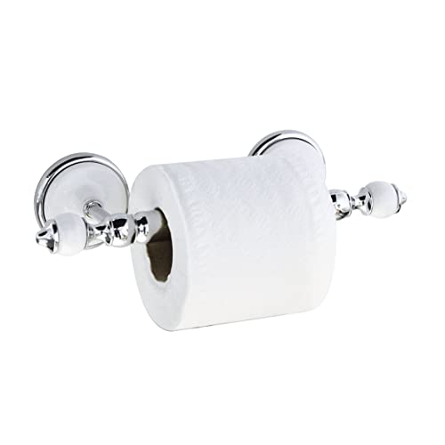 Bathroom Accessories Chrome And Porcelain Amazon Com
