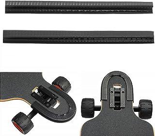 محافظ محافظ عرشه SENSIVO Skateboard ، محافظ عالی لبه ، محافظ بینی و محافظ دم Longboard ، پوشش لاستیکی جذب شوک با دوام ، نوار لاستیکی (بسته 2