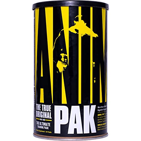 Animal Pak – Vitamin Pack Supplement – Zinc, Vitamin C, B, D, Amino Acids and More – Sports Nutrition Supplement – Convenient All-in-One Packs – 44 Packs