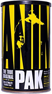 Animal Pak - The Complete All-in-one Training Pack - Multivitamins, Amino Acids, Performance Complex and More - For Elite ...
