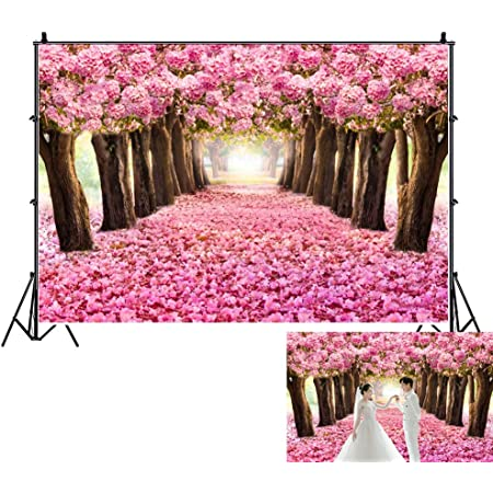 Leaves 10x15 FT Photography Backdrop Abstract Flourishing Foliage Nature Illustration with Blooming Roses Colorful Dots Background for Baby Birthday Party Wedding Vinyl Studio Props Photography