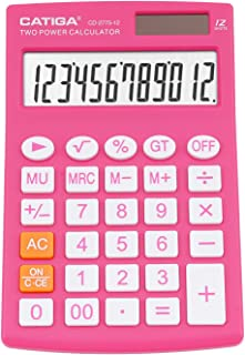 Desktop Calculator with 12 Digit LCD Display Screen, Home or Office Use, Easy to Use with Clear Display/Memory Functions, ...