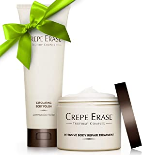 Crepe Erase – Trial Size Body Duo – TruFirm Complex – Intensive Body Repair Treatment