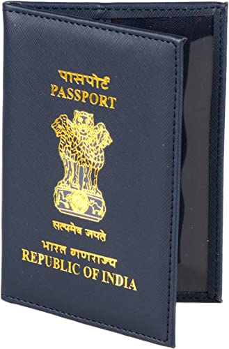 BluHawk Indian Black Polyster Passport Cover product image