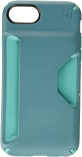 Speck Products Presidio, Wallet Case for iPhone 7/6S/6 - Mineral Teal/Jewel Teal