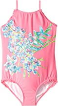 Lilly Pulitzer Kids Baby Girl's UPF 50+ Juliet Swimsuit (Toddler/Little Kids/Big Kids)