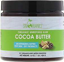 Sky Organics, Organic Unrefined Raw Cocoa Butter, 16 oz (454 g)