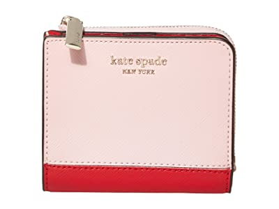 Kate Spade New York Spencer Small Bifold Wallet (Hot Chili Multi) Wallet