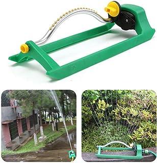 SAQIMA 460X150X140mm Oscillating Lawn Sprinkler Watering Garden Pipe Hose Water Flow with Connector,Garden Improvement Tool